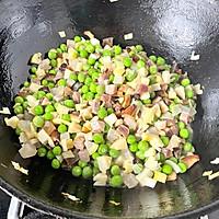 春笋豌豆咸肉糯米饭的做法图解6