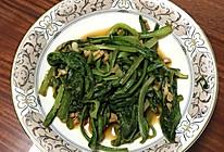 素炒油麦菜的做法
