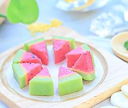 果蔬西瓜糕的做法
