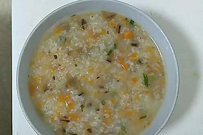 香菇萝卜粥