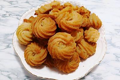 不用黄油的曲奇饼干●香甜酥脆简单的吖