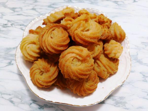 不用黄油的曲奇饼干●香甜酥脆简单的吖的做法