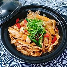 米饭杀手—豆芽鱼腩煲