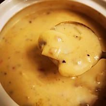 家庭版奶油蘑菇汤