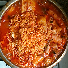 韩式泡菜年糕火锅