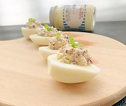 鸡蛋沙拉杯#丘比轻食厨艺大赛#的做法