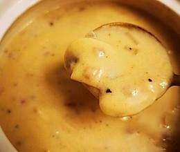 家庭版奶油蘑菇汤的做法