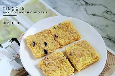 无糖无油の麦片鸡蛋饼~ #麦子厨房# 小红锅出品
