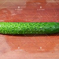 响油黄瓜,快手宴客菜#新年开运菜,好事自然来#的做法图解1
