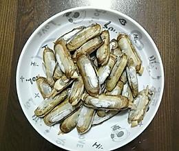 清炒海蛏的做法
