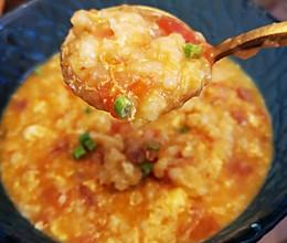 好吃的番茄疙瘩汤的做法