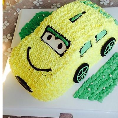 汽車奶油蛋糕