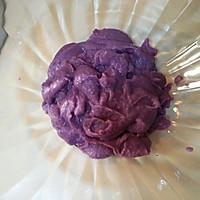 椰香紫薯糯米糍的做法图解5
