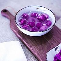 水晶紫薯汤圆的做法图解15