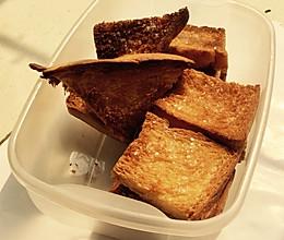 香烤面包的做法