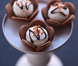 迷你巧克力梅花派#松下烘焙魔法世界#的做法