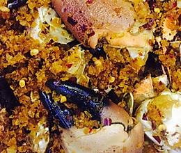 面包蟹-避风塘炒蟹的做法