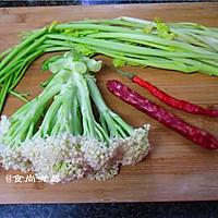 广式腊肠炒花菜#味极鲜味汁#的做法图解1