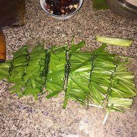 天津年夜饭必备之葱绿新芽的做法图解4