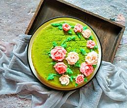 #精品菜谱挑战赛#花开富贵菠菜蛋糕的做法