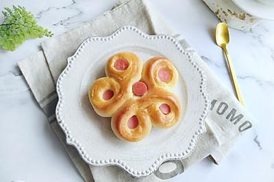 香肠花式面包
