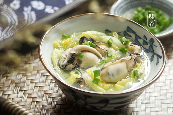 味谷 | 牡蛎白菜汤的做法
