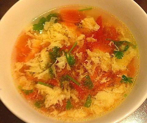 简易西红柿鸡蛋汤的做法