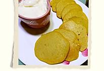 快手早餐 无糖无油香蕉小软饼加牛奶鸡蛋羹的做法