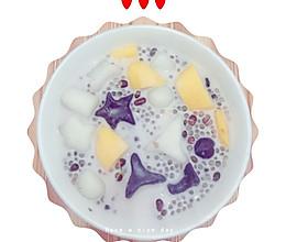 红豆西米露芋圆的做法