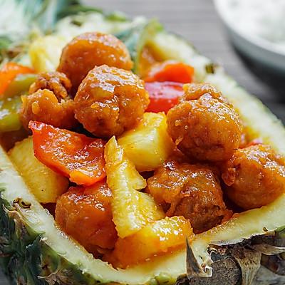 菠萝咕噜肉 | 日食记