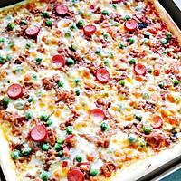 金枪鱼披萨的做法图解10