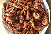 煎饼卷河虾的做法