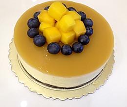蓝莓芒果慕斯蛋糕(6寸)的做法