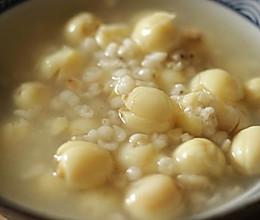 莲子薏米粥的做法