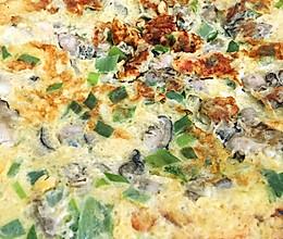 牡蛎煎蛋的做法
