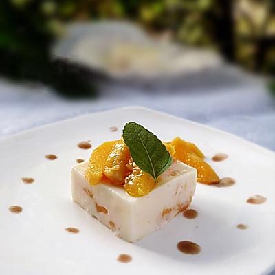 芒果椰奶冻糕➕蔓越莓椰奶小方糕
