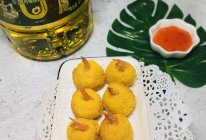#橄享国民味 热烹更美味#黄金凤尾虾球的做法