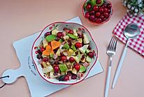 """#""""莓""""好春光日志#魔芋凉皮蔓越莓果蔬沙拉的做法"""