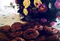 巧克力曲奇(加黑加仑干和蔓越莓干滴)的做法