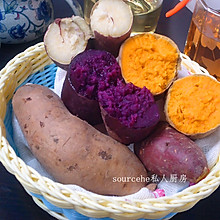 烤薯(烤箱版烤红薯、烤紫薯、烤黄薯、烤白薯)