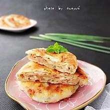 """葱香肉饼——美亚粉尚""""靓瘦""""好锅试用菜谱三"""