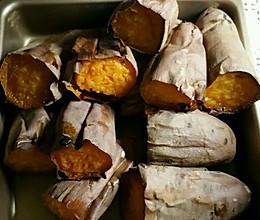 烤白薯的做法