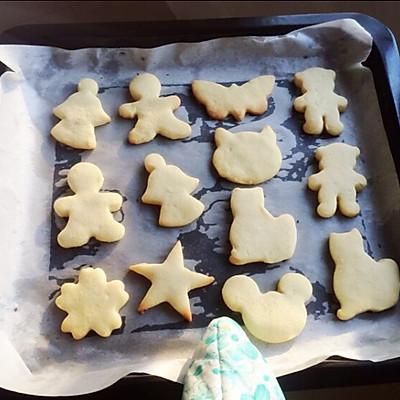 初体验の 卡通黄油小饼干的做法 步骤14