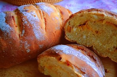 芒果奶酪面包~爱上芒果季