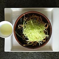 怀旧版满分减腹餐凉拌三丝之【海带莴苣拌胡萝卜】的做法图解5