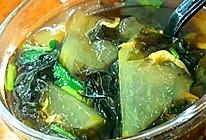 减肥餐~紫菜虾皮冬瓜汤的做法