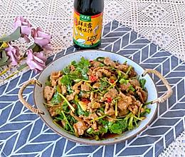 #春日时令,美味尝鲜#好吃到哭香菜拌牛肉的做法