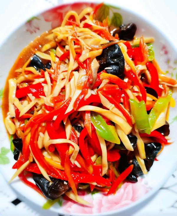 杏鲍菇鱼香素丝的做法