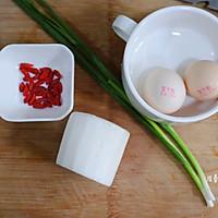 全民网红白萝卜丝煎蛋汤   ✅适合月龄18+婴幼儿的做法图解1