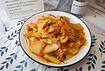 辣白菜土豆片的做法